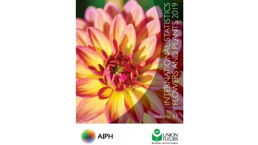 """International Statistics - Flowers and Plants 2019"". Bild: AIPH."