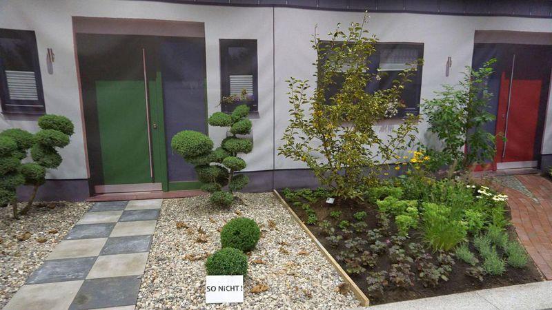 Landschaftsg rtner rettet den vorgarten for Doppelhaus garten gestalten