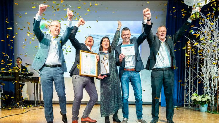 Gediflora aus Belgien gewann den Titel International Grower of the Year 2019. Bild: AIPH.