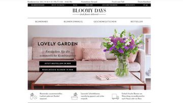BLOOMY DAYS: Fleurop neuer Partner.