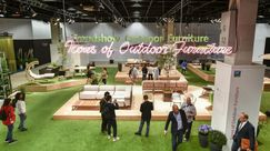 Trend Show Outdoor Furniture/ Ikonen Outdoor Furniture, Halle 10.2. Bild: Koelnmesse.