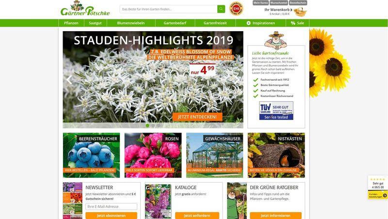 Gärtner Pötschke Garten Und Pflanzenversand Stellt Sich Neu Auf