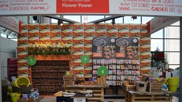 POS Green Solution Islands: FlowerPower auf der spoga+gafa 2019. Bild: GABOT.