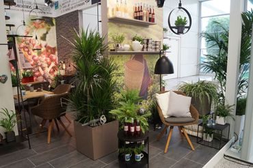 POS Green Solution Islands: My tiny cofee shop auf der spoga+gafa 2019. Bild: GABOT.