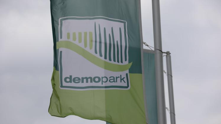demopark Flaggen. Bild: demopark.