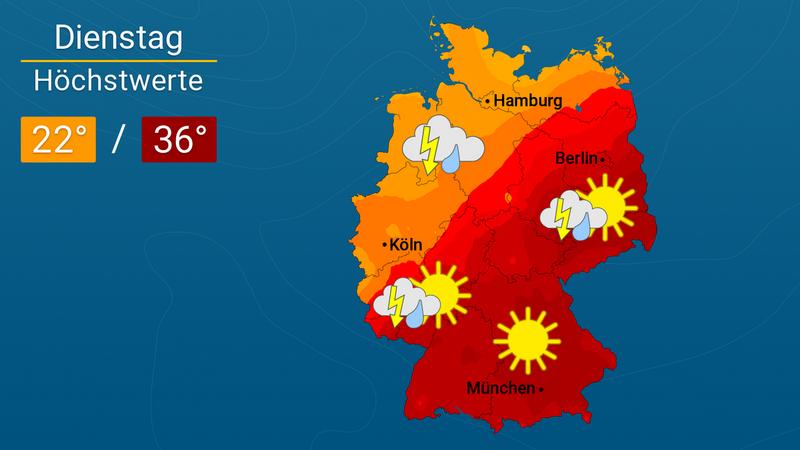Heute, morgen und 7 Tage: Das Wetter in München und der Region
