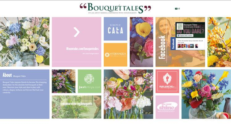 Die Bouquet Tales-website. Sreenshot: GABOT.