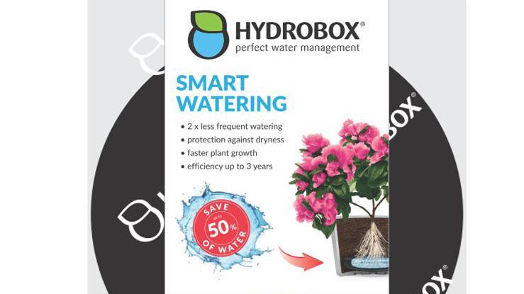 hydrobox wasserspeicher f r pflanzen. Black Bedroom Furniture Sets. Home Design Ideas