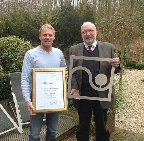 Karthäuser Anerkennung Für Langjähriges Engagement Gabotde