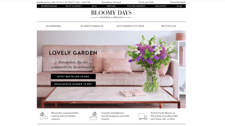 berlin bloomy days gmbh insolvent. Black Bedroom Furniture Sets. Home Design Ideas