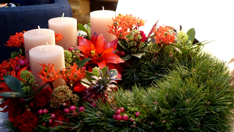 Fdf advent und weihnachten 2017 for Weihnachtstrends 2016 floristik